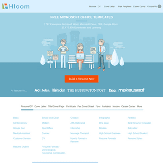 Free Microsoft Office Templates - Hloom