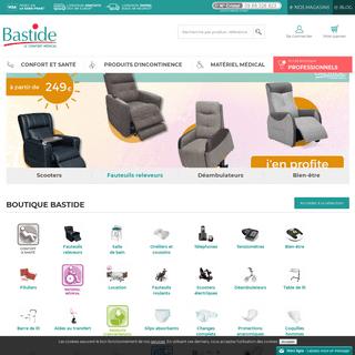 Bastide Le Confort Médical- Vente de matériel médical en ligne
