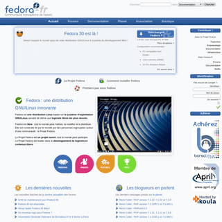 Accueil ~ Fedora-Fr - Communauté francophone Fedora - Linux