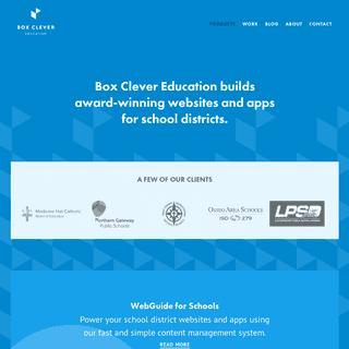 ArchiveBay.com - webguideforschools.ca - Websites and Apps for Schools - Box Clever Education