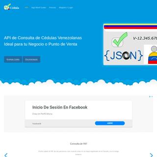 API - Consultas de Cédulas Venezolanas