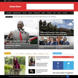 ArchiveBay.com - kenyanreport.com - Kenyan_Report - News, Politics, Business, Technology, Entertainment & Sports