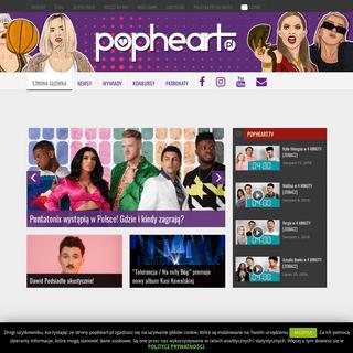 POPHEART.pl - Twoje źródło wiedzy o muzyce popPOPHEART.pl - Twoje źródło wiedzy o muzyce pop
