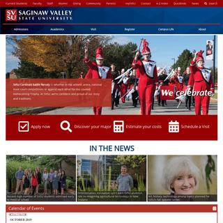 Homepage - Saginaw Valley State University