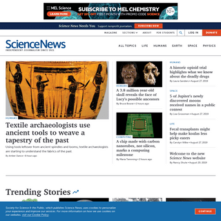 ArchiveBay.com - sciencenews.org - Science News - The latest news from all areas of science