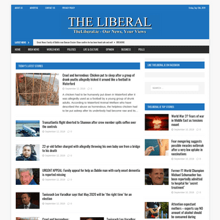TheLiberal.ie – Our News, Your Views – TheLiberal.ie – Our News, Your Views