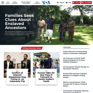 ArchiveBay.com - voanews.com - Home Page - Voice of America - English