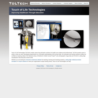 ToLTech - Touch of Life Technologies