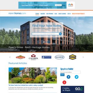 Find New Home & Condo's in Ontario