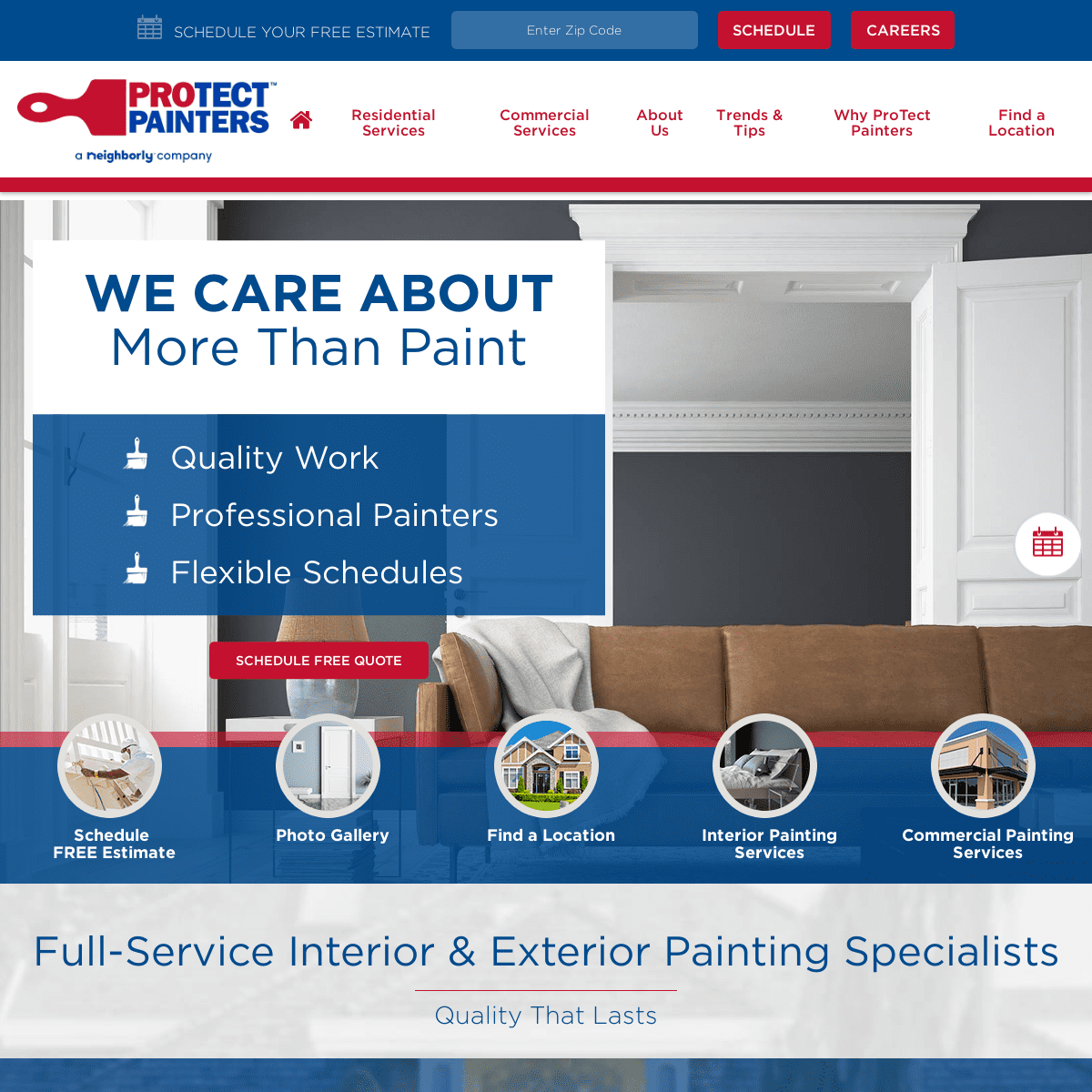 Interior & Exterior Painting - ProTect Painters