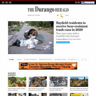 The Durango Herald – Breaking news and photos from Durango, Colorado