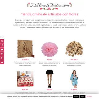 ArchiveBay.com - defloresonline.com - DEFLORESONLINE.COM - Tienda Online de Artículos con Flores