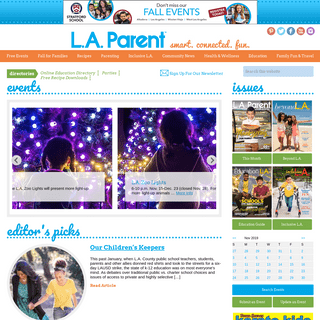 Events, Activities for Kids and Things To Do In L.A. - L.A. Parent