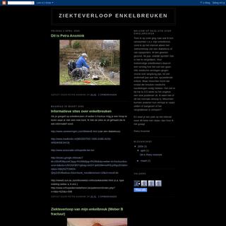 ArchiveBay.com - enkelbreuken.blogspot.com - Ziekteverloop enkelbreuken