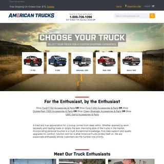 AmericanTrucks - Customize Your Truck