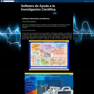 Software de Ayuda a la Investigacion Cientifica