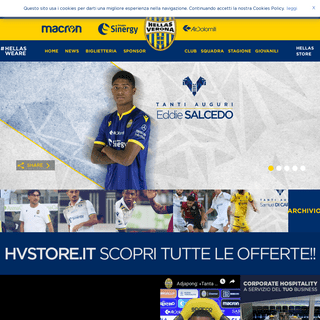 Hellas Verona Official Website