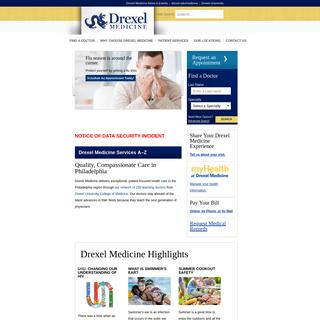 ArchiveBay.com - drexelmedicine.org - Home - Drexel Medicine