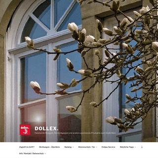 Dollex. - Fensterdichtungen, Türdichtungen und andere spannende Produkte zum Abdichten