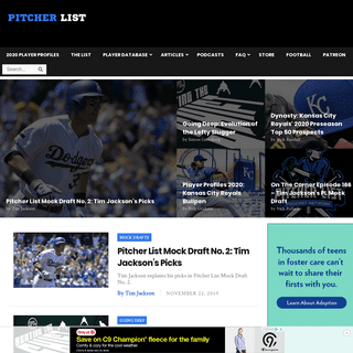 ArchiveBay.com - pitcherlist.com - Pitcher List – Every Pitcher Visualized
