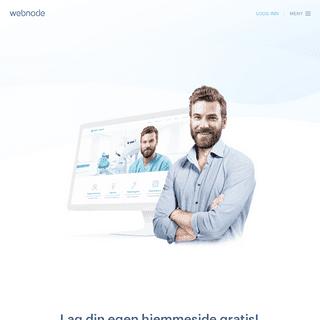 Gratis hjemmeside - Lag din egen nettside enkelt-Webnode