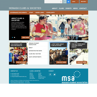 Home - Monash University Clubs