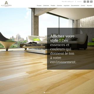 Parquets Alexandra - Fabricant de plancher de bois franc