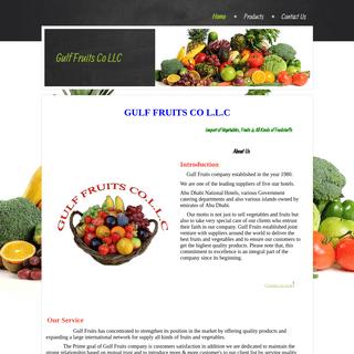 GULF FRUITS CO L.L.C