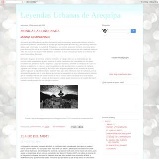 Leyendas Urbanas de Arequipa