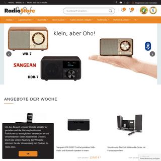 ArchiveBay.com - radiostore.de - Spezialist für Radios, Kabel, Lupenleuchten, Audio- Videozubehör