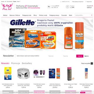 Drogeria internetowa Paatal.pl Kosmetyki i Perfumy Sklep Online