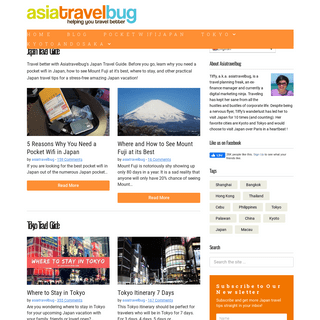 Asiatravelbug - Helping You Travel Better in Japan