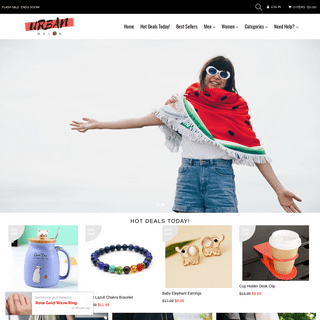 Urban Melon - Great Deals on accessories, clothes and gadgets!