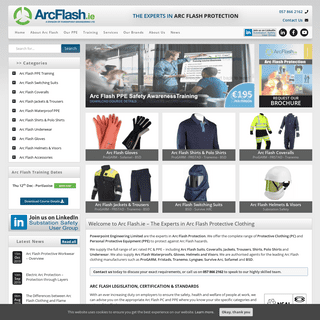 Arc Flash Protection - Arc Flash Workwear - Arc Flash PPE