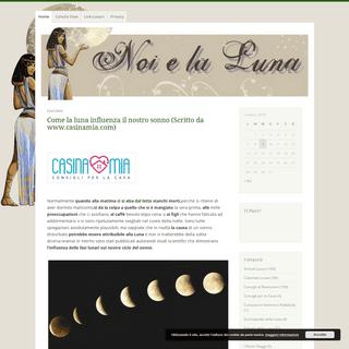 Noi e la Luna -.Conoscere e Servirsi della Magia Lunare e della Natura -