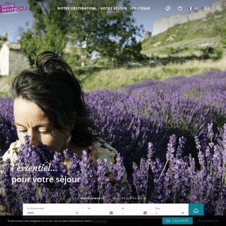 Le tourisme en Drôme Provençale - agenda, hébergements, restaurants...