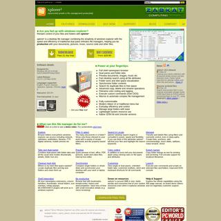 xplorer² Windows File Manager (Explorer replacement)