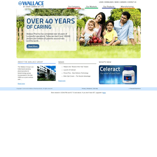 -- Wallace Pharmaceuticals Pvt Ltd- At every corner of life