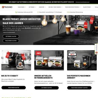 ArchiveBay.com - tassimo.de - TASSIMO Webshop - Für jeden Moment das perfekte Getränk