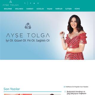 Ayşe Tolga - Aromaterapist ve Sağlıklı Yaşam Koçu