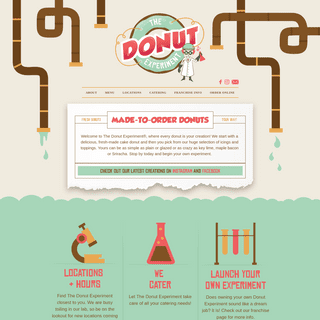 Home - The Donut Experiment