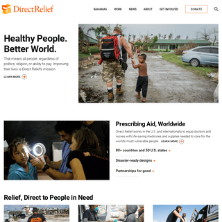 Direct Relief (Official Site)