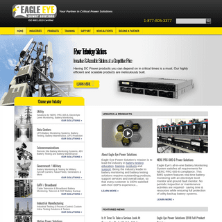 Power Solutions for Battery Testing and Monitoring - Eagle Eye