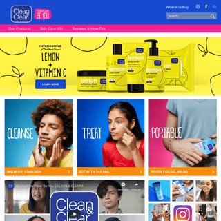ArchiveBay.com - cleanandclear.com - Acne Treatment Products - CLEAN & CLEAR®
