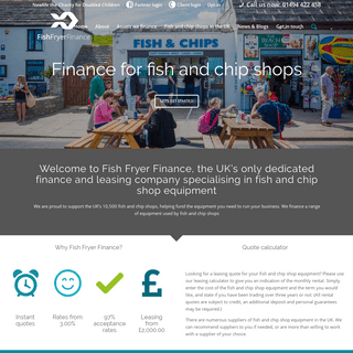 Chip Shop Equipment Leasing - Fish and Chip Shop Equipment Finance