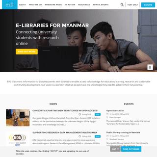 A complete backup of eifl.net