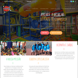 Home - Rodinhas Park - Brincadeira e Diversão para famílias e crianças