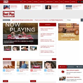 Svet Plus - Najnovije vesti - Muzika Showbiz Film - Radio i Web Tv