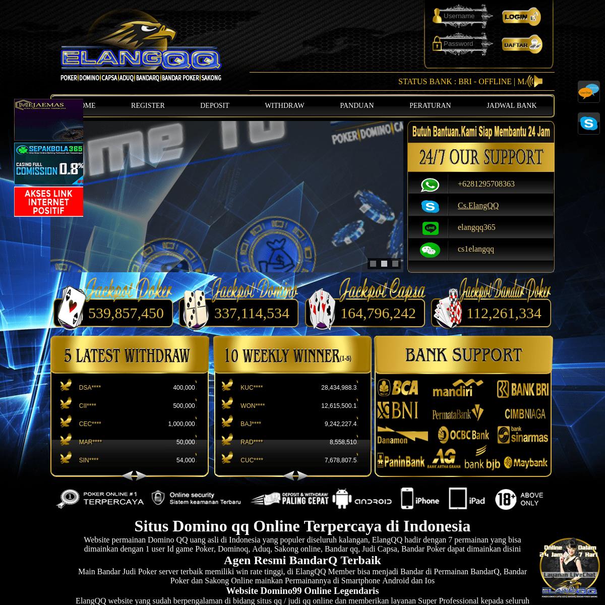 Judi Online Domino Qq Bandar Q Judi Poker Judi Capsa Bandar66