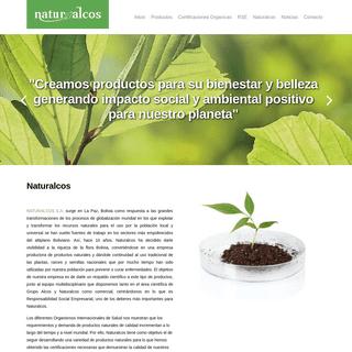 Inicio - Naturalcos Bolivia